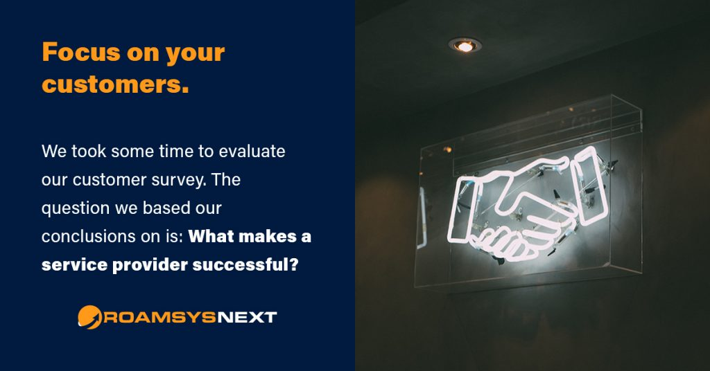 RoamsysNext Customer Survey